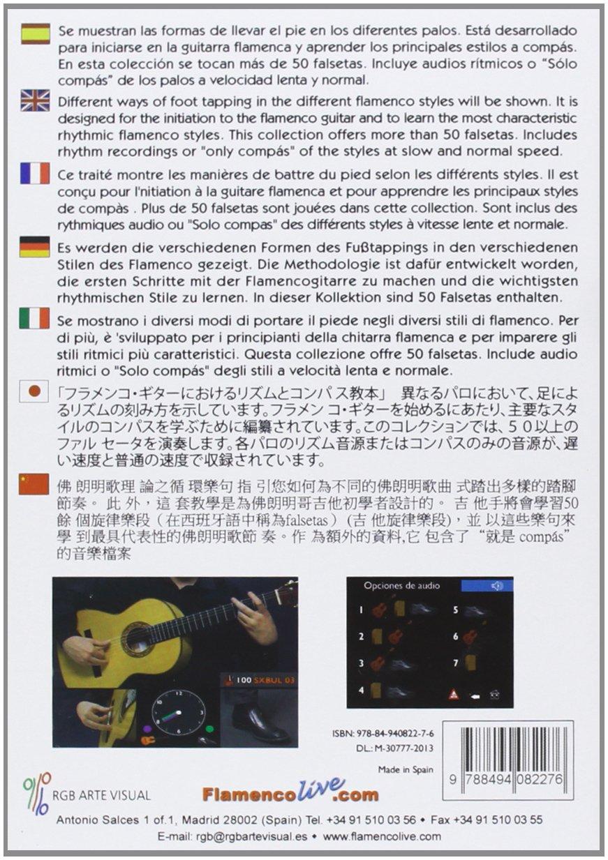 Tratado Del Ritmo Y Compás En La Guitarra Flamenca 1 : David Leiva ...