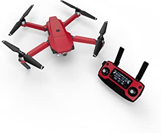 product image for Solid State Red Decal for Drone DJI Mavic Pro Kit - Includes Drone Skin, Controller Skin and 3 Battery Skins