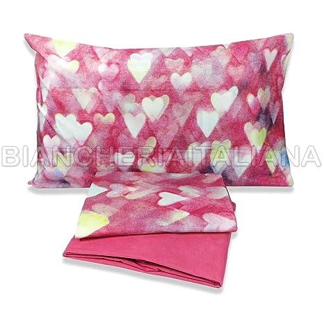 Copriletto Matrimoniale Bassetti Love.Bassetti Love Hearts Completo Letto Copriletto Matrimoniale Amazon