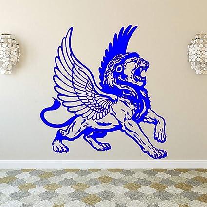 xingbuxin León con alas de águila Tatuajes de Pared Símbolo de la ...