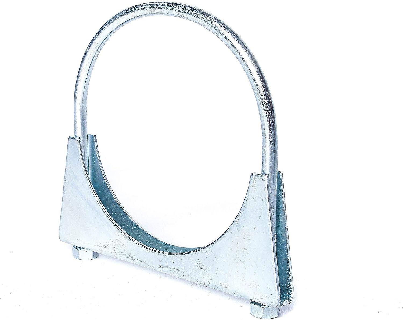 Durchmesser:/Ø 28 mm M8 B/ügelschelle Stahl verzinkt /Ø 29-106 mm Rohr-Schelle Auspuff-Schelle Klemm-Schelle Auspuff Verbinder 10652