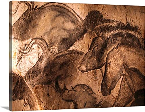 Stone-Age cave Painting