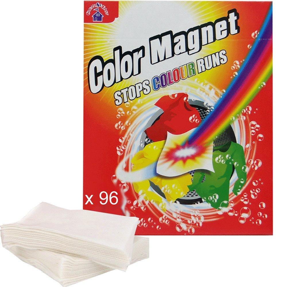 (oferta Éco) X 96 toallitas antidécoloration color Magnet cleansoeasytm: Amazon.es: Hogar