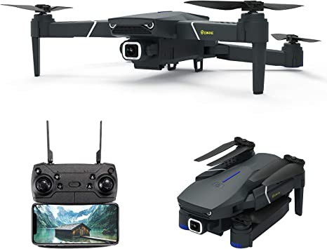 Opinión sobre EACHINE E520, Drone con Camara 4k WiFi 4K para Adultos Niños Drone FPV HD 5.8 GHz, WiFi App, 250m FPV Distancia, Selfie Drone con 4K, Drone Profesionales, Gran Angular Drone. …