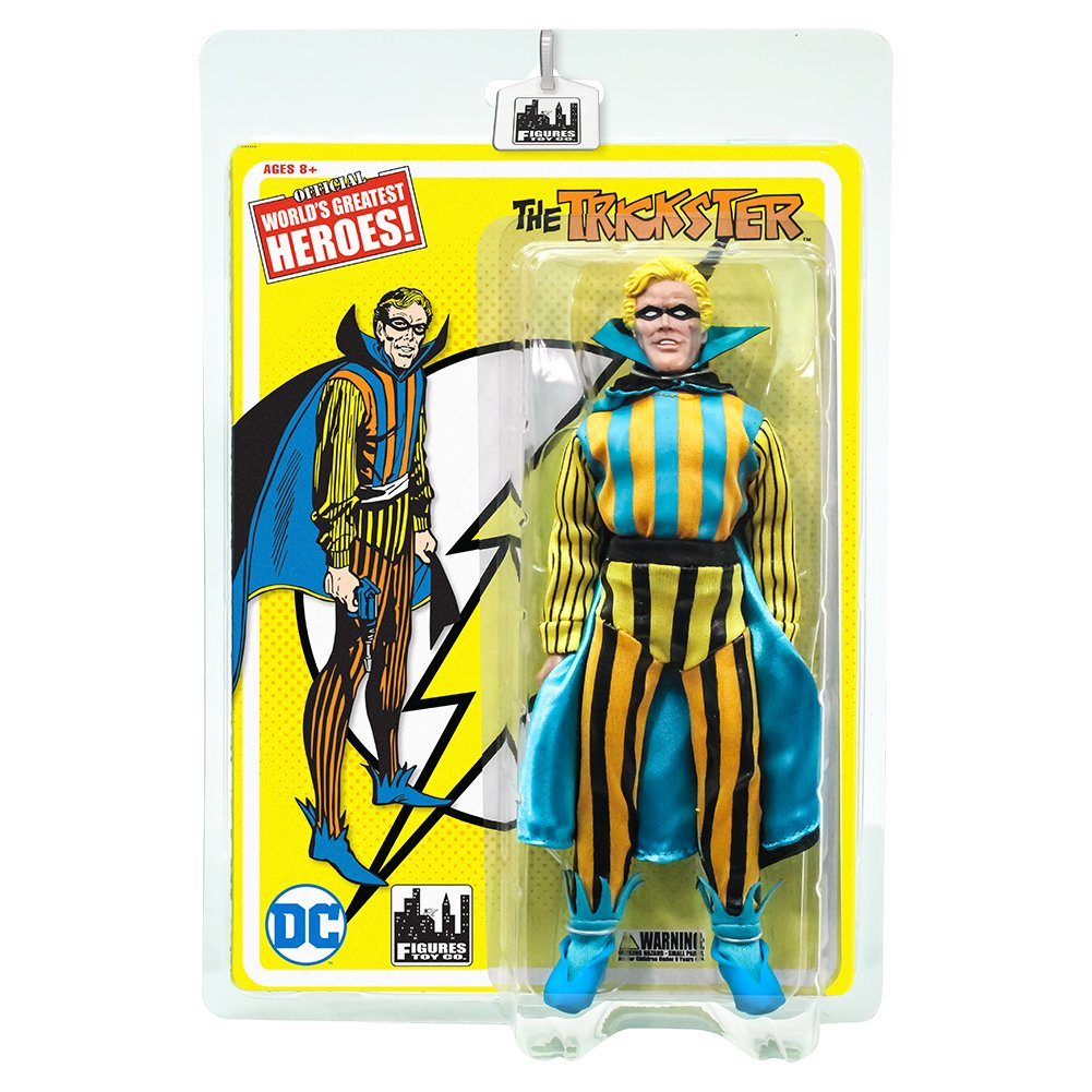 Flash Retro 8 Inch Action Figures Series 1 Trickster