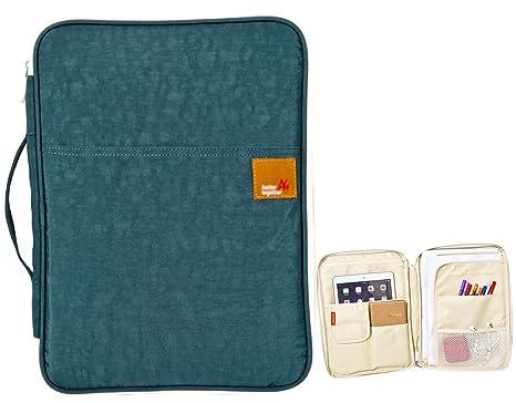 Amazon Com Isuperb A4 Documents Bag Multifunction Files Organizer