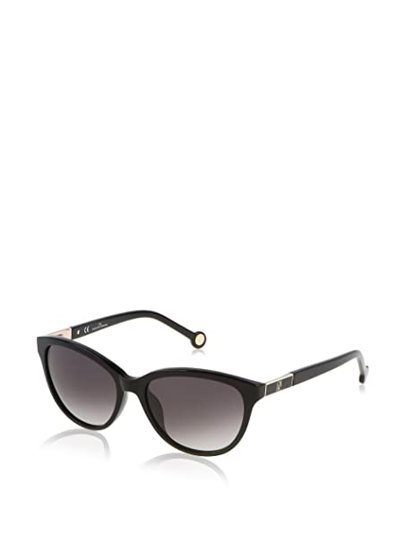 Carolina Herrera Gafas de Sol SHE642_0700 (54 mm) Negro ...