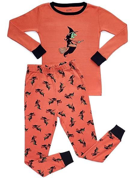 26e8949ebb2 Amazon.com  Leveret Kids   Toddler Pajamas Boys Girls Unisex 2 Piece ...