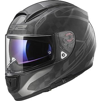 LS2 Casco Moto FF397 vector CT2 Carbon, Class Matt Carbon, ...