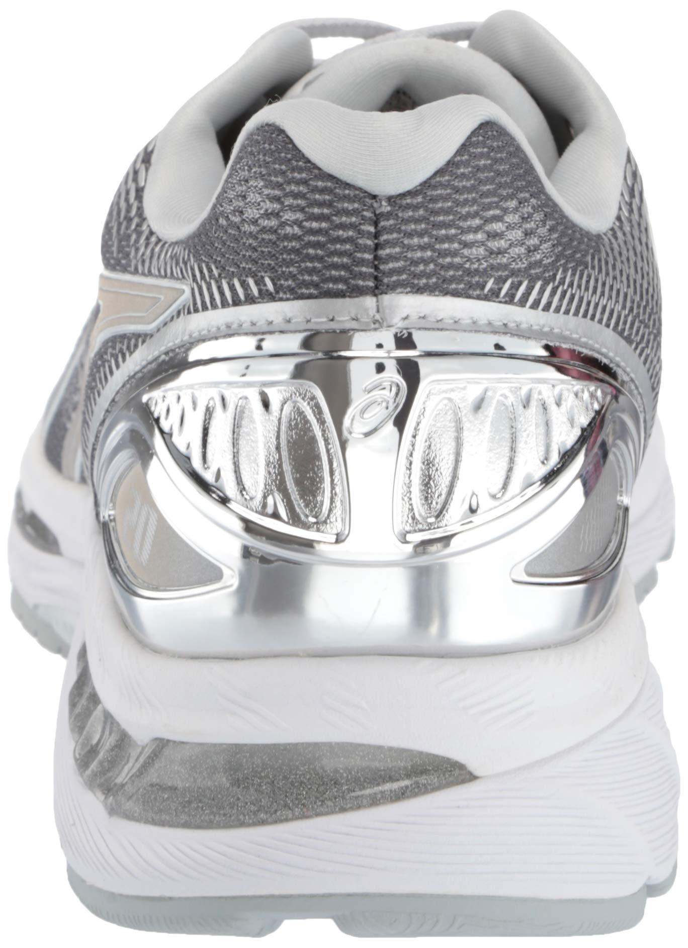 ASICS Mens Fitness/Cross-Training Trail Running Shoe, Carbon/Silver/White, 7 Medium US by ASICS (Image #2)