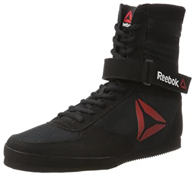 best loved cf62c f93dc Reebok Mens Boxing Boot-Buck Shoes, (Delta BlackWhite 000) 11