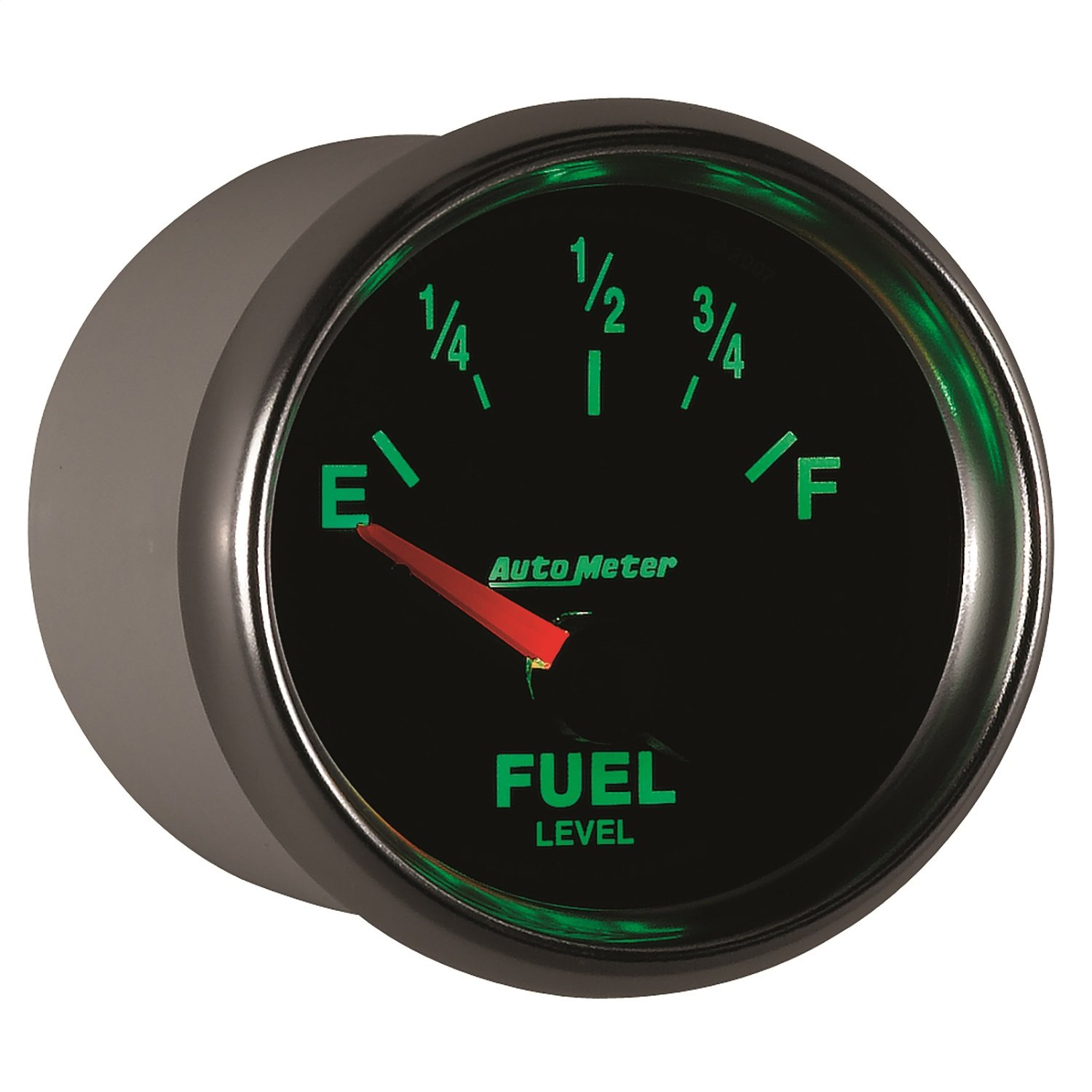 Auto Meter 3813 GS 2-1/16'' 0-90 Ohms Short Sweep Electric Fuel Level Gauge for GM