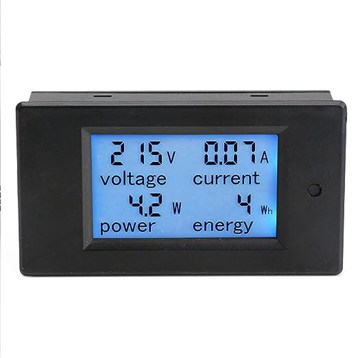 8 opinioni per DROK® Meter multimetro digitale AC 80-260V 20A Tensione Amperaggio Energy Power,