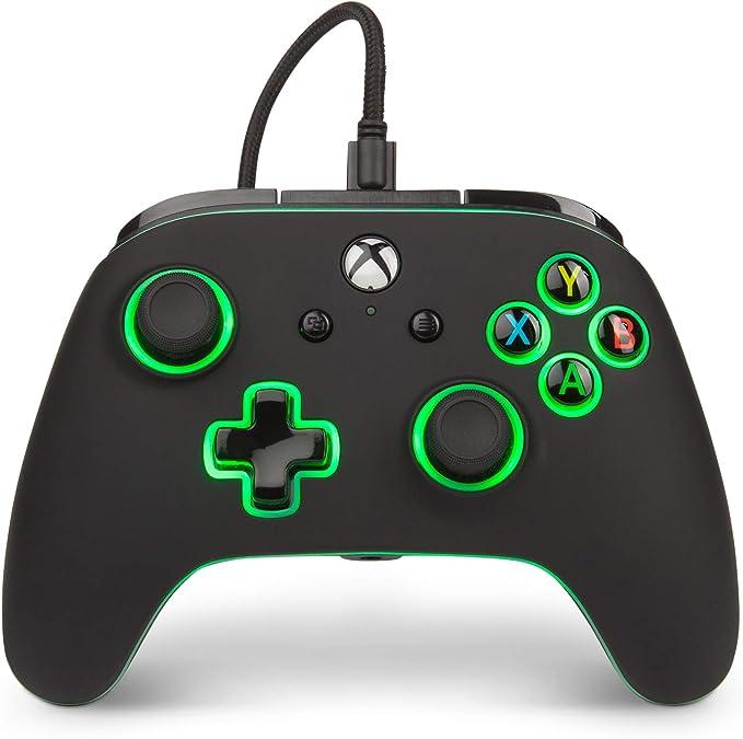 PowerA - Mando con cable mejorado (Xbox One): Amazon.es: Videojuegos