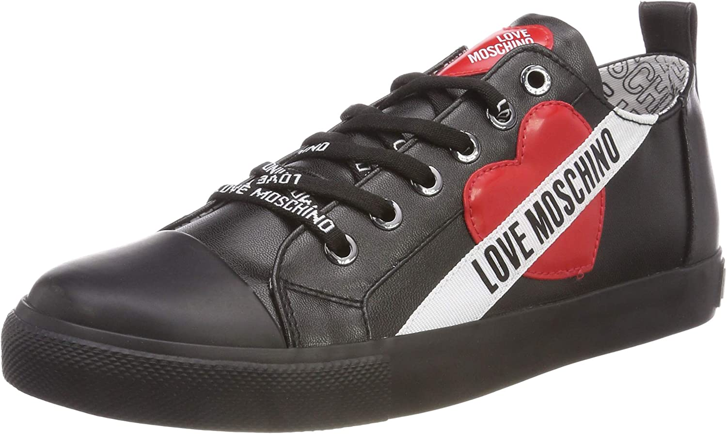 Love Moschino Women/'s Scarpad.gomma30 Nappa Pu Low-Top Sneakers