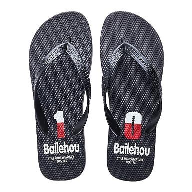 45e40d3eaddc7f YIBLBOX Men s Flip-Flops Beach Sandal for Men Design Comfort Proof Slippers  with Numer Printing