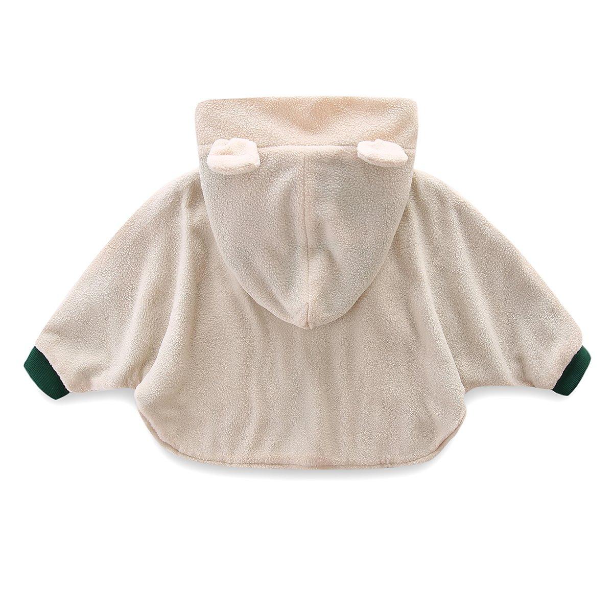 b6a7138085b5 Amazon.com  Mud Kingdom Baby Mushroom Costume Fleece Cloak Coat ...