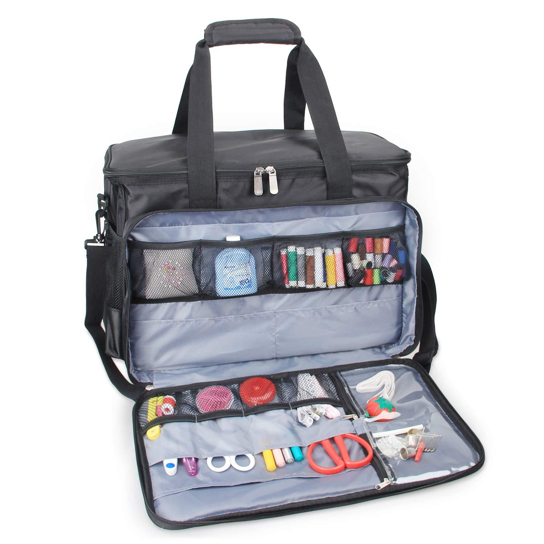 Amazon.com: Luxja - Bolsa para máquina de coser: Arte ...