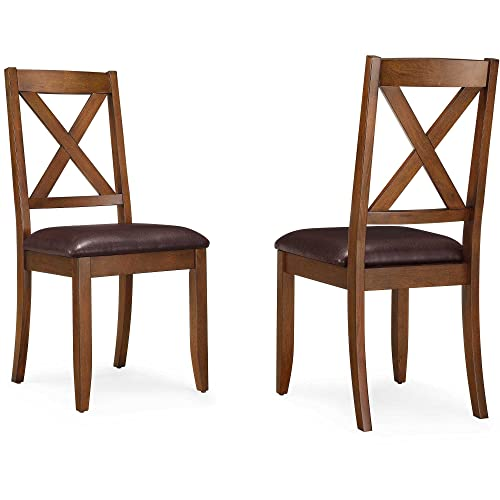 Better Homes and Gardens Maddox Crossing Dining chair set of 6, brown