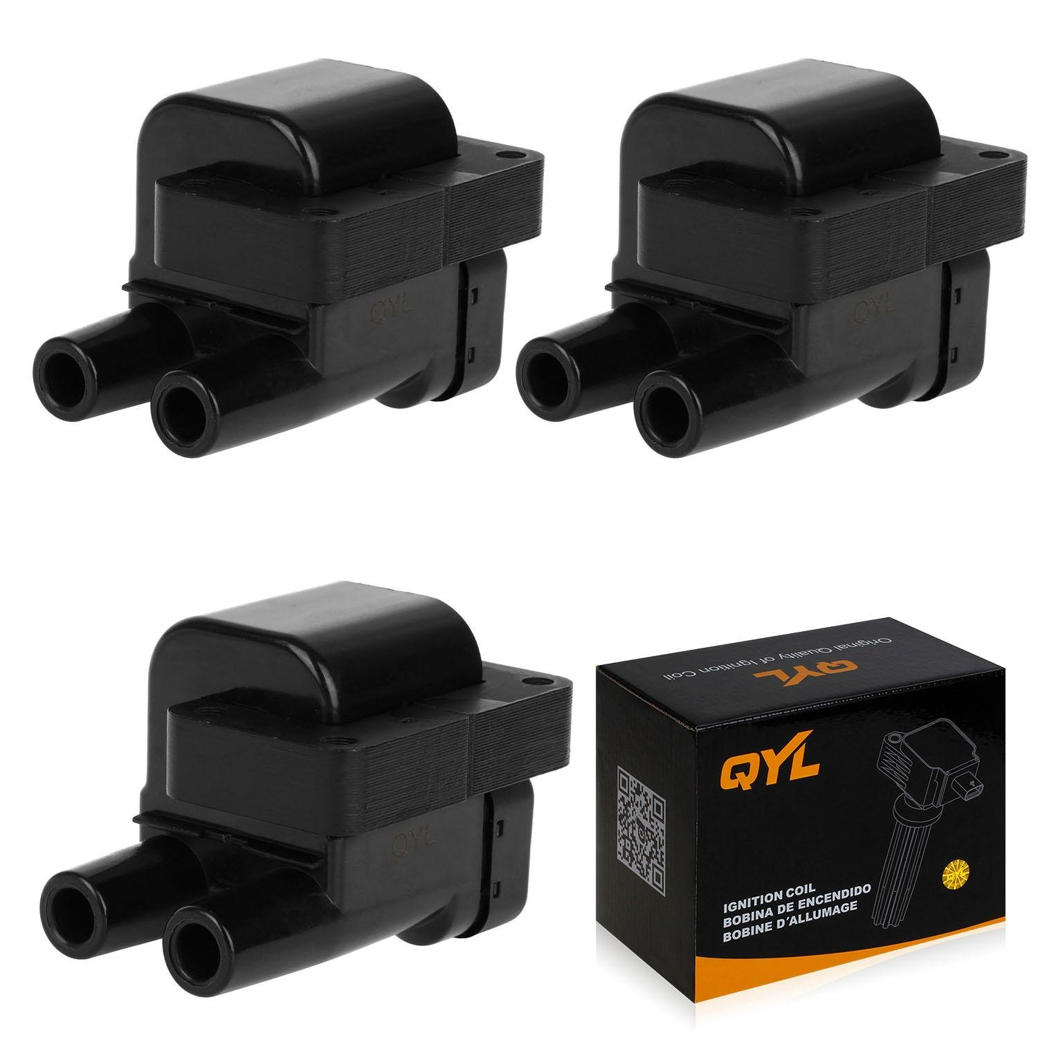 3Pcs Ignition Coil Pack Replacement for Mitsubishi 3000GT Diamante on