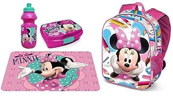 549398dfa0 LTP Minnie Mouse Topolina Zaino Zainetto PVC Set Merenda Asilo,Scuola  Bambina: Amazon.it: Giochi e giocattoli