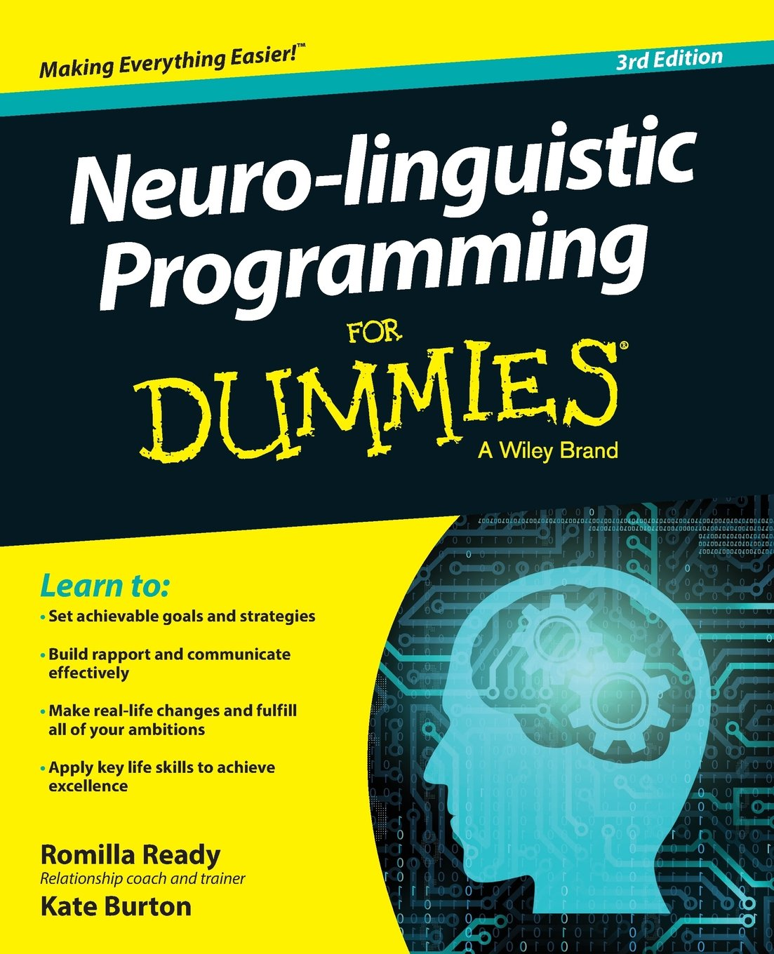 Neuro-linguistic Programming For Dummies (For Dummies (Psychology & Self Help)) by For Dummies