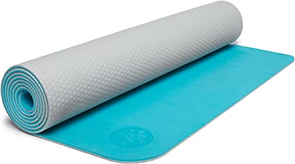 Amazon.com: Manduka LiveOn PLUSfoam Yoga Mat, Quest, 3mm ...