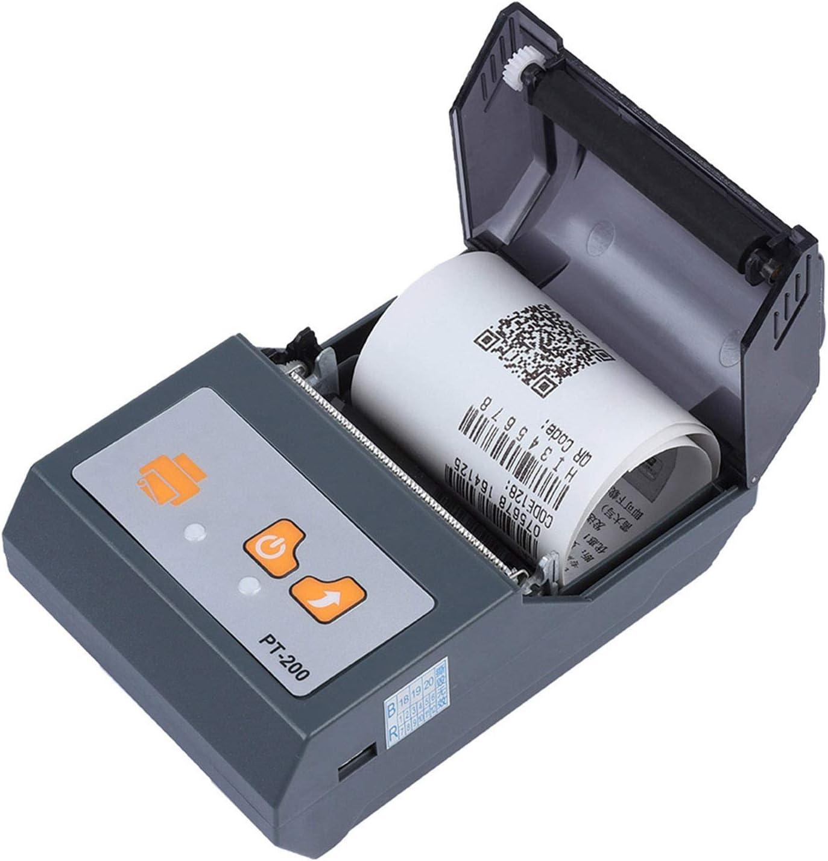 facile da trasportare mini stampante portatile Bluetooth 58mm portatile centri commercial Stampante termica di piccole dimensioni e leggera adatto per supermercati supporto controllo smart phone