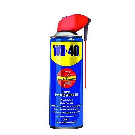 223 opinioni per WD40 12210 Lubrificante, Anticorrosivo e Sbloccante, Trasparente, 500 ml