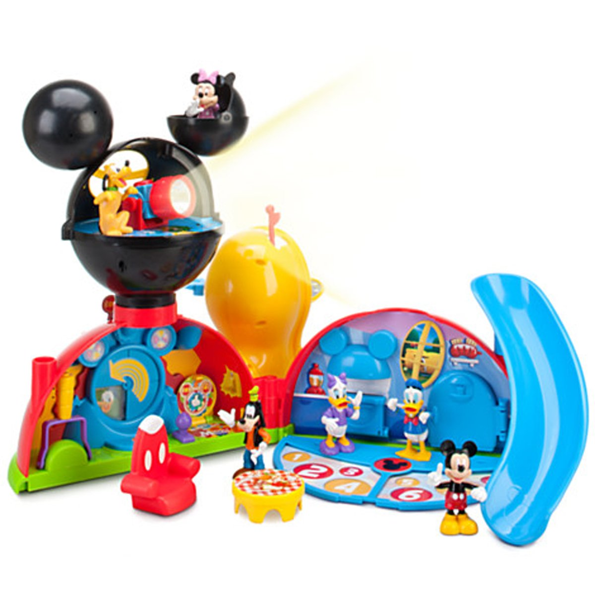amazon com disney exclusive mickey mouse clubhouse playset toys