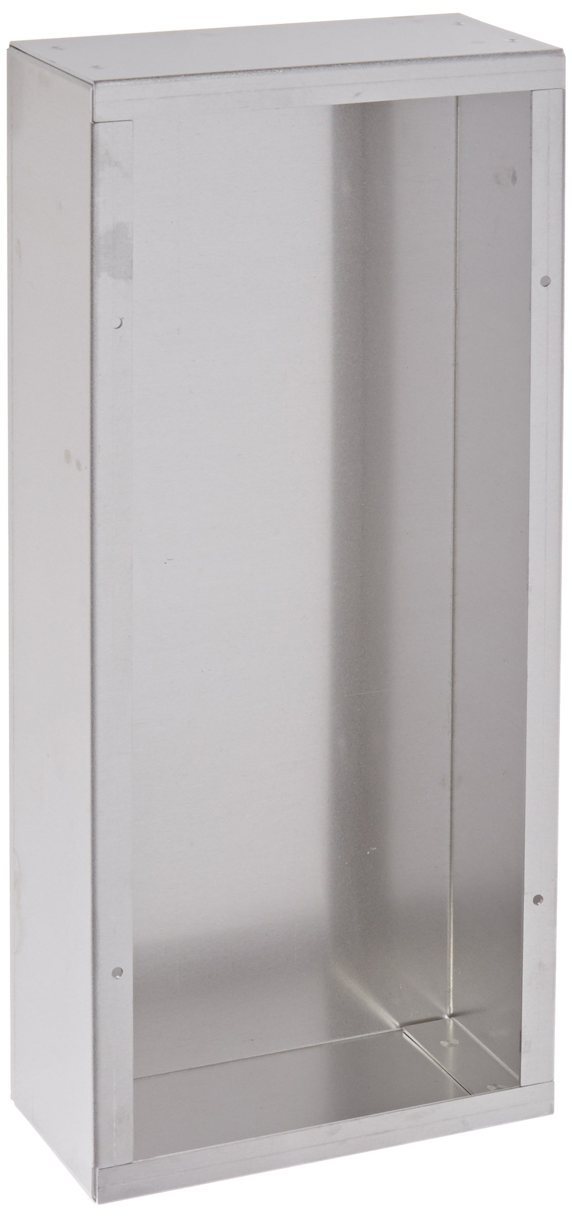 BUD Industries AC-1414 Aluminum Chassis, 14'' Length x 6'' Width x 3'' Height, Natural Finish