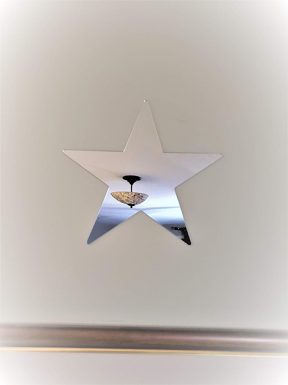 Fancy Star Shaped Acrylic Mirror Wall Decor 30 x 30 Cm