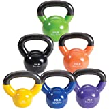 Body Solid Vinyl Coated Kettle Bell Set
