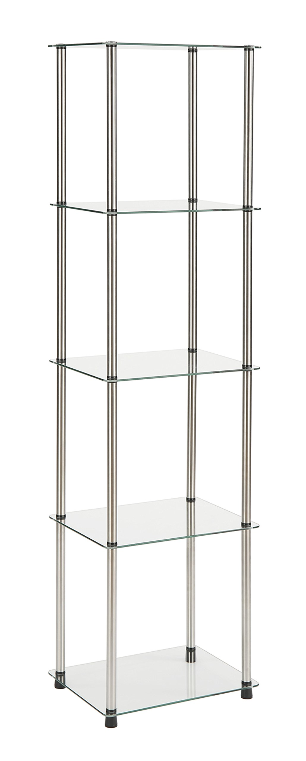 Convenience Concepts 5-Tier Glass Tower by Convenience Concepts