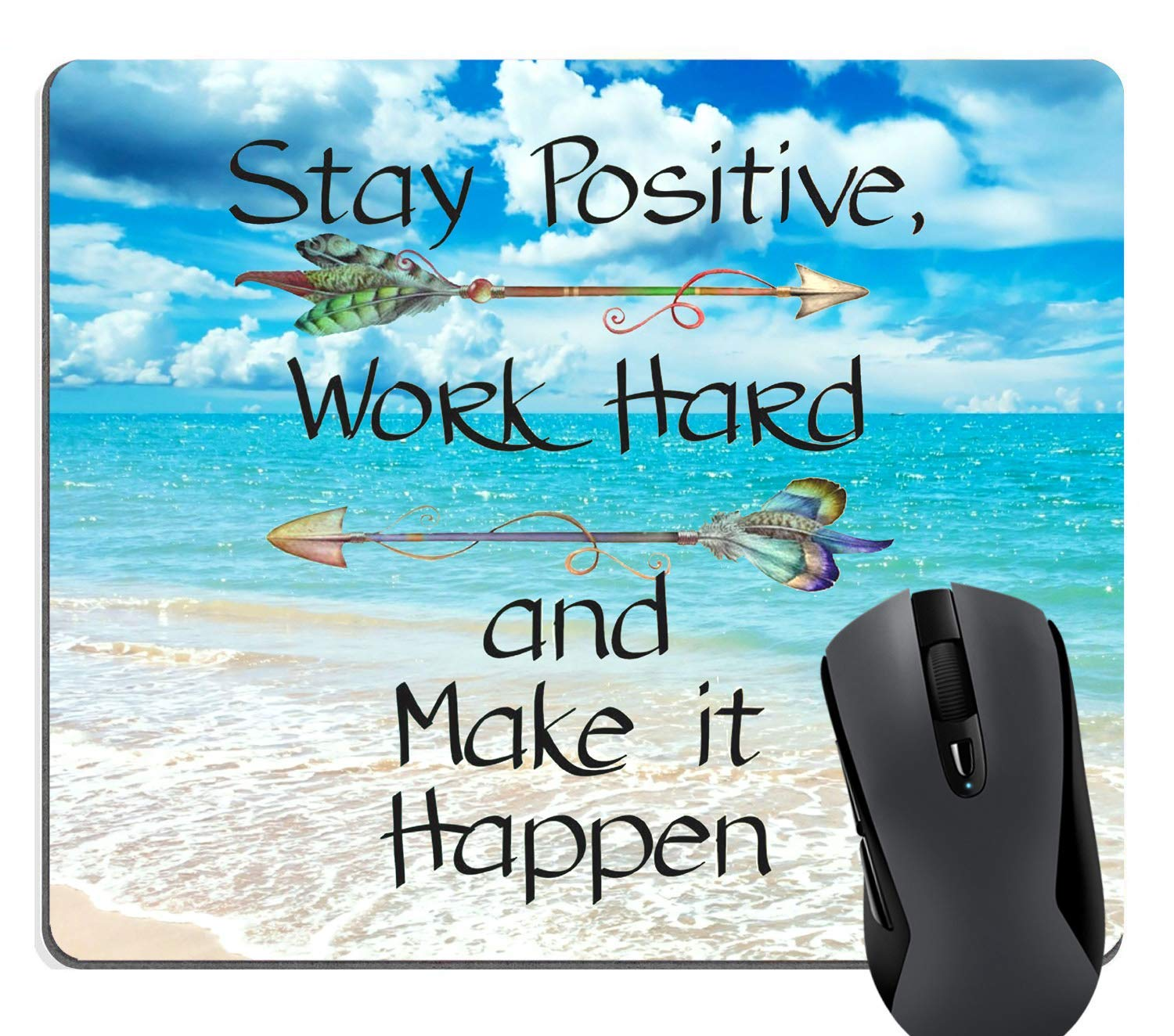 Amazon.com : Stay Positive Work Hard Make It Happen Arrow ...