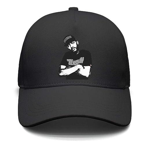 d1c95fbe5646c Amazon.com  GEGRAHA Womens Mens Breathable Black Dad Baseball Trucker Nipsey -Hussle-Black-Crenshaw-Logo-Snapback Hats  Clothing
