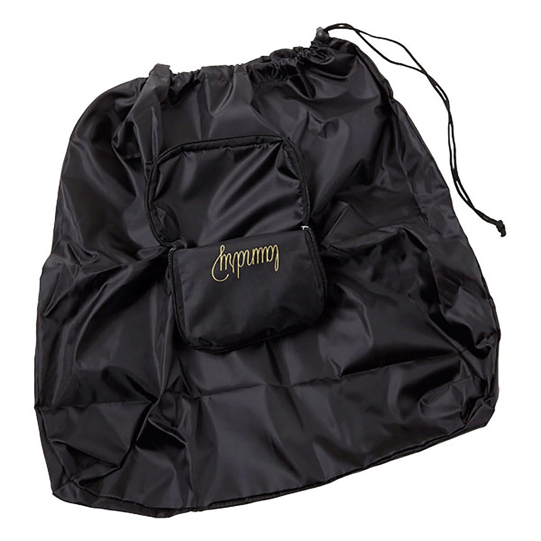 Miamica Womens Travel Laundry Bag Black//Rose Gold