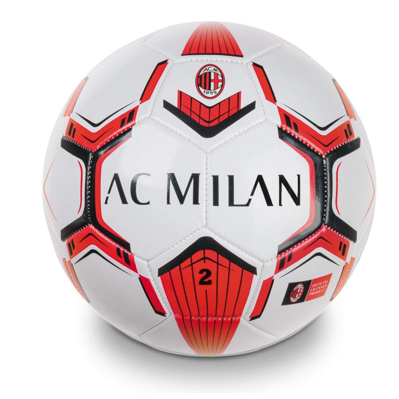 Mondo-13716 Milan - Mini balón de fútbol, Color Rojo y Negro ...
