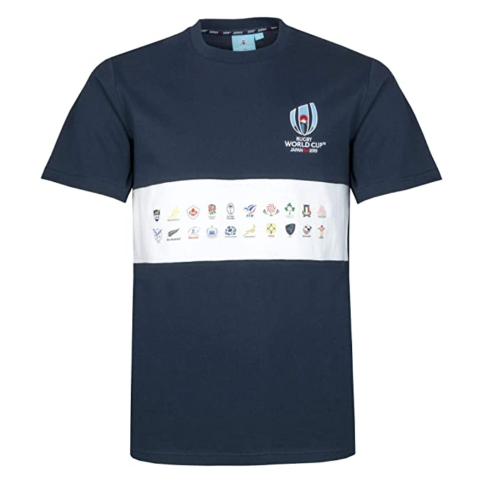 Rugby World Cup Japan 2019 20 Nations Map - Camiseta de manga ...