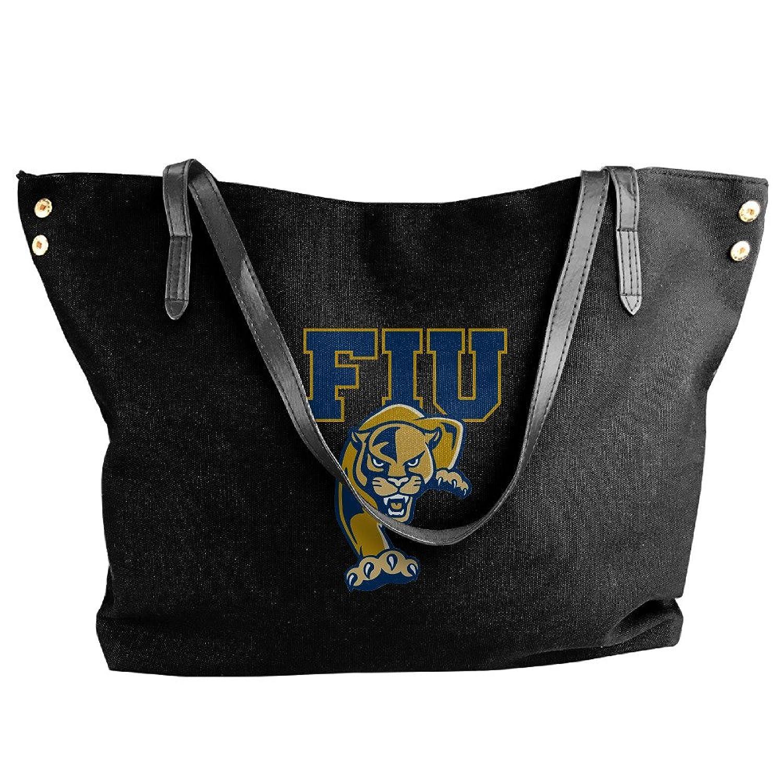 NCAA FIU Panthers Logo Handbag Shoulder Bag For Women