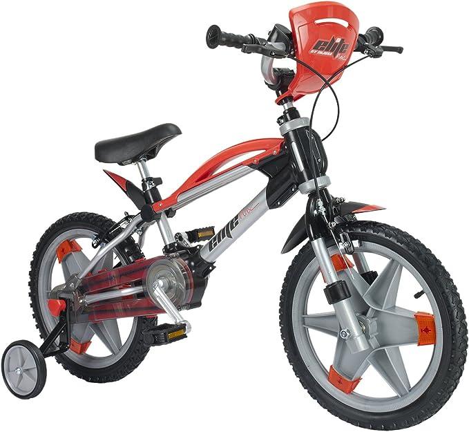 INJUSA Bicicleta Élite MAX de 16 Pulgadas para niños de +3 Años, Color Rojo, (1600): Amazon.es: Juguetes y juegos