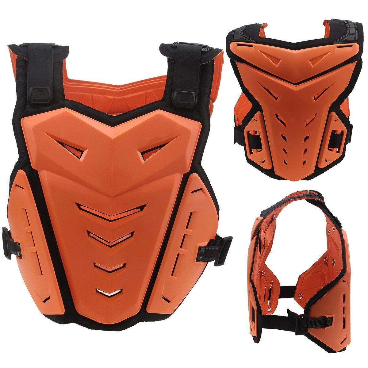 Possbay Motorcycle Body Armor Gear Back Chest Protectors Motocross Dirt Bike Unisex S-XXL For Riding Cycling Skating Skiing Scooter