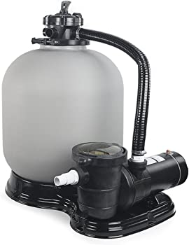 4500GPH 19 Sand Filter w 1HP Above Ground Swimming Pool Pump__