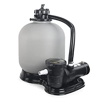XtremepowerUS 4500GPH Sand Pool Filter