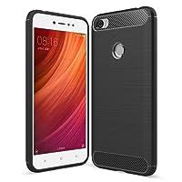 Simpeak Funda Xiaomi Redmi Note 5A / Redmi Note 5A Prime, Fundas Xiaomi redmi Note 5A Prime Carcasa redmi Note 5A Prime Funda Gel Silicona Premium TPU(5,5 Pulgadas), Negro