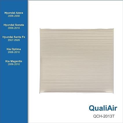 Amazon Com Qualiair Qch 2013t Cabin Air Filter For Hyundai