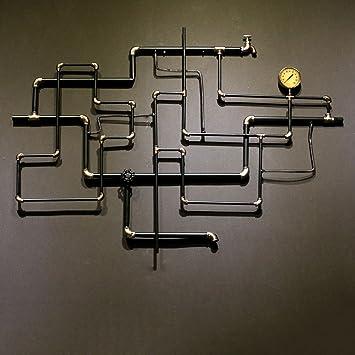 Qbds Loft De Style Industriel Decoration Murale Bar Cyber