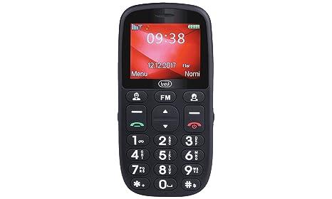 telefono cellulare per anziani tasti grandi samsung  Trevi MAX 24 Telefono Cellulare per Anziani con Tasti Grandi, Grande ...