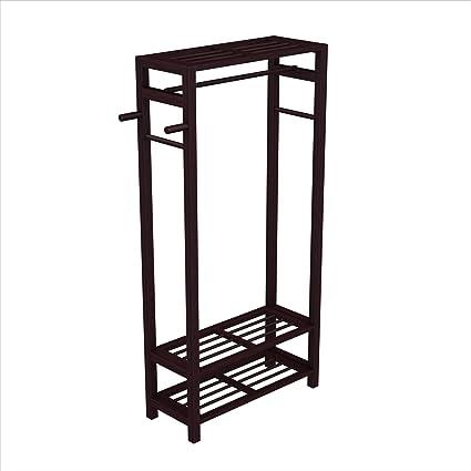 Stony-Edge - Mueble de madera para abrigo, zapatos y ...