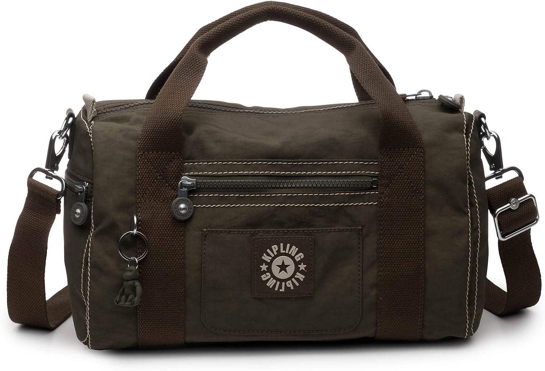 Kipling Tag Along Duffle, Essential Travel Bag, Multi Pocket, Zip Closure